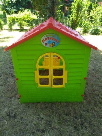 Domek plastikowy dla dzieci, domek ogrodowy