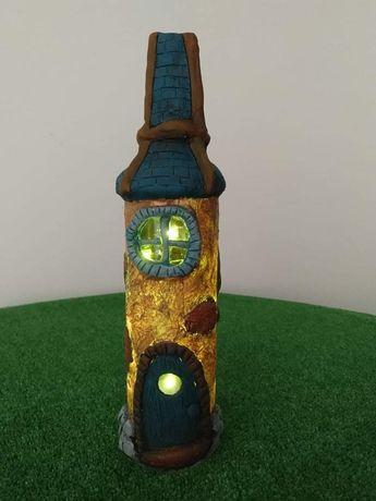 Luminaria em formato de torre