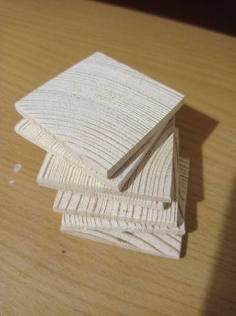 Заготовки для рукоділля, квадрати 50*50*5 мм