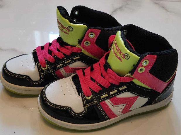 Buty sportowe, sneakersy dziewczynka r30