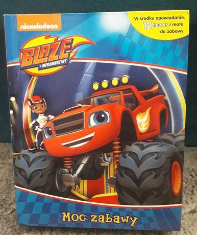 Blaze i Megamaszyny książka figurki mata do zabawy