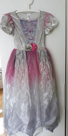 Halloween sukienka 140/146