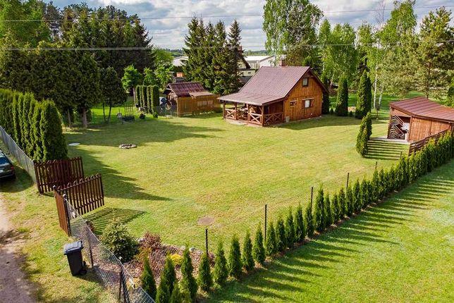 Wynajmę domek letniskowy w miejscowości Michałki nad jeziorem Kalwa