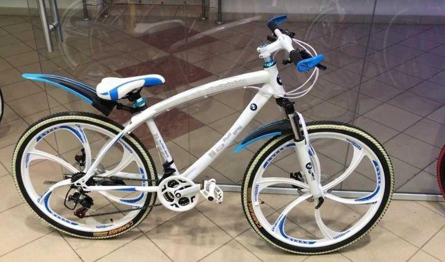 Горный велосипед БМВ литые 26 диски |