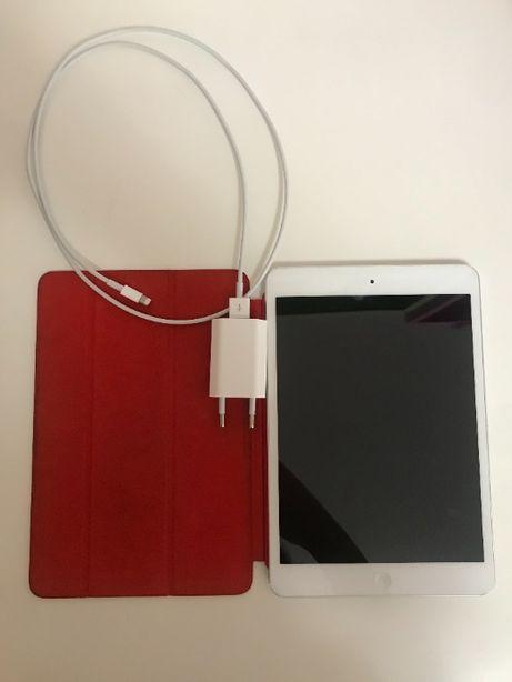 iPad Mini 16GB+capa+carregador