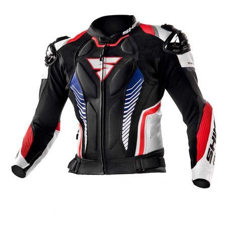 SHIMA APEX ST skórzana kurtka motocyklowa jak nowa! ochraniacze!