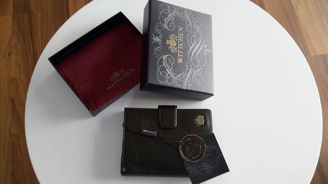 Skórzany portfel męski Wittchen nowy