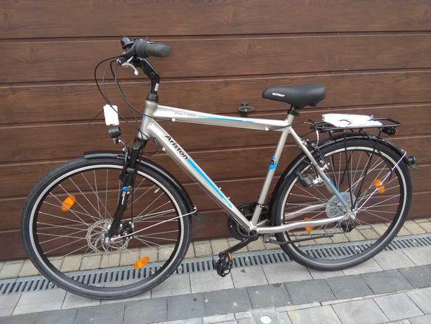 Rower męski trekkingowy 28 NOWY  aluminium dynamo XL