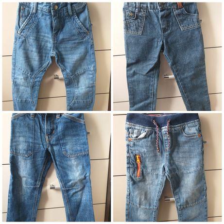 Spodnie jeansy  dżinsy 98
