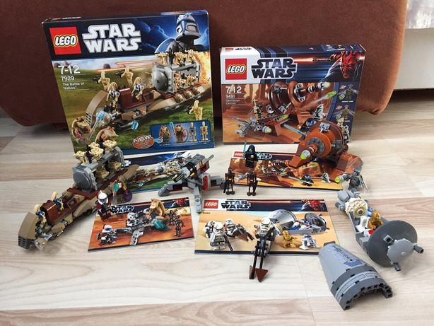 LEGO STAR WARS7929 + 9491 + 9488 + 9490