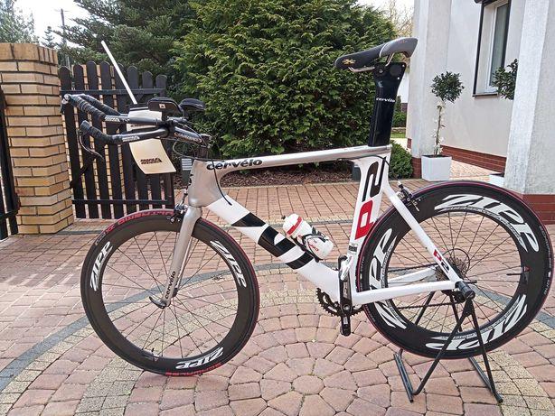 Rower czasowy Cervelo P2, Shimano 105, rozmiar 58. Triathlon