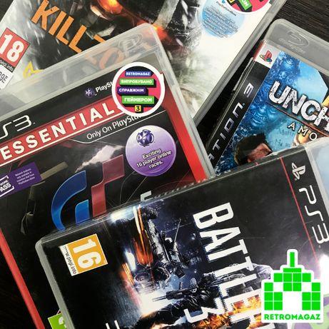 PS3 Игры Gran Turismo 5 Battlefield 3 Uncharted 2 MotorStorm Killzone
