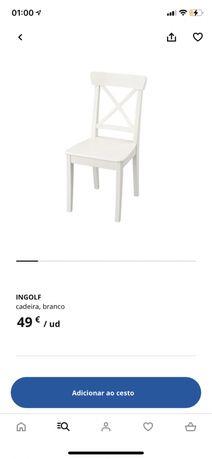 Cadeira Ikea Ingolf