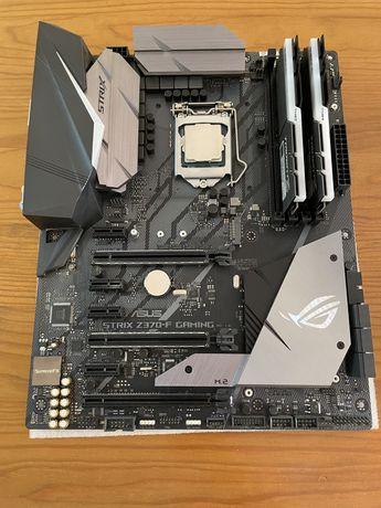 I7 + 16GB RAM + Motherboard ROG Z370