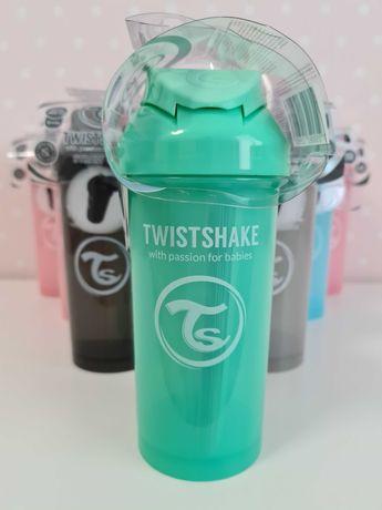 Bidon Twistshake zielony 360 ml