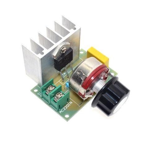 Регулятор Напряжения Мощности Диммер 4000Вт AC 220V.