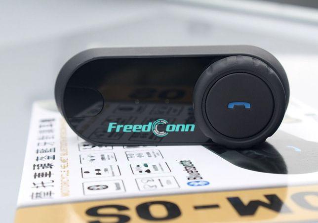 Intercom BLUETOOTH FreedCONN T-Com OS zestaw na 2 Kaski 100M interkom