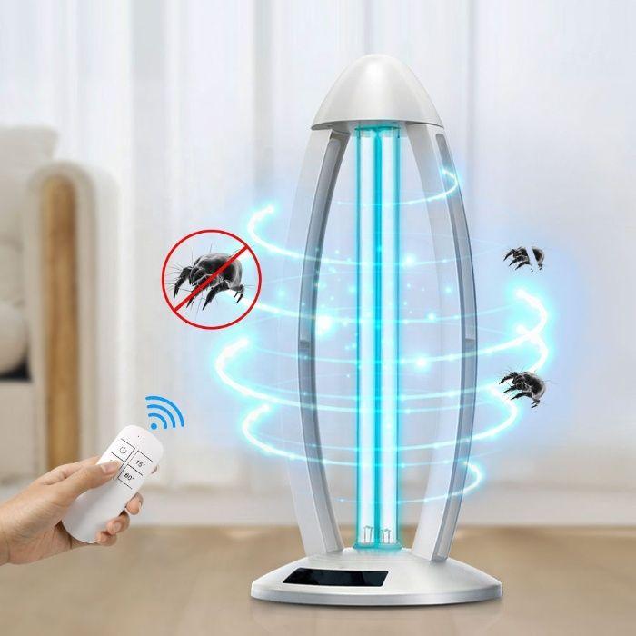 Кварцевая лампа бактерицидная (озоновая) 38Вт дезинфекция на 360° Киев - изображение 1