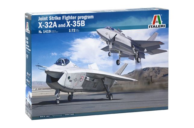 Самолет Joint Strike Figter program X-32A and X-35B 1/72