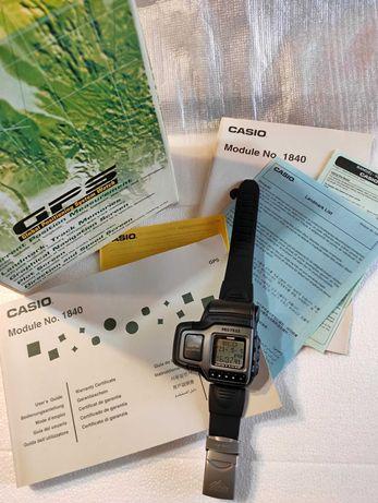 Casio Pro Trek GPS PRT-1 (módulo 1840) Muito raro - NOVO