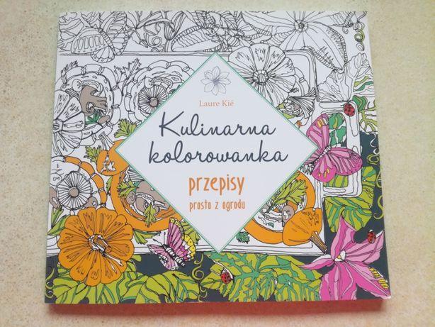 Kulinarna Kolorowanka - antystresowa