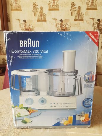 кухонный комбайн combimax 700 vital блендер