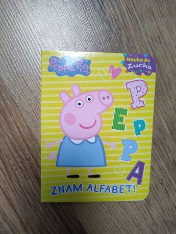 Książeczka Peppa znam alfabet