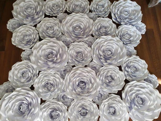Roże z papieru 3D 50cm