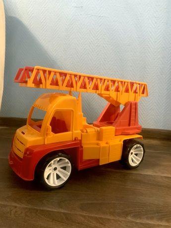 Пожарная машина, игрушка, пожарная машинка, большая пожарная машина
