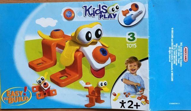Конструктор Meccano Kids Play Собачка (3 в 1, от 2-х лет)