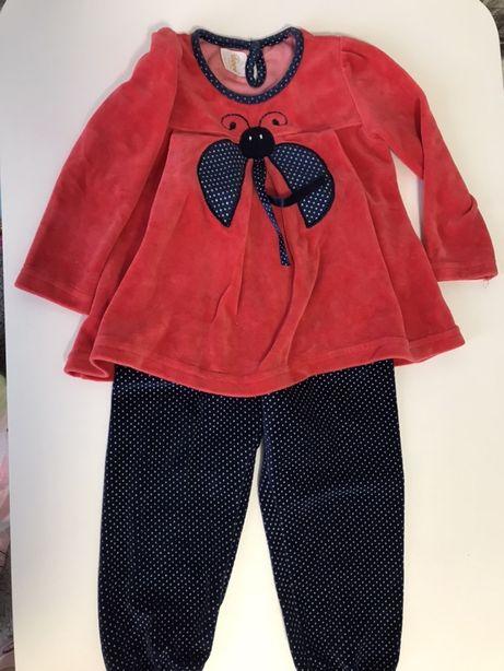 Нарядный костюм на девочку 86 р, 1-2 года