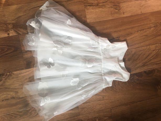 Sukienka rozmiar 6-12 m