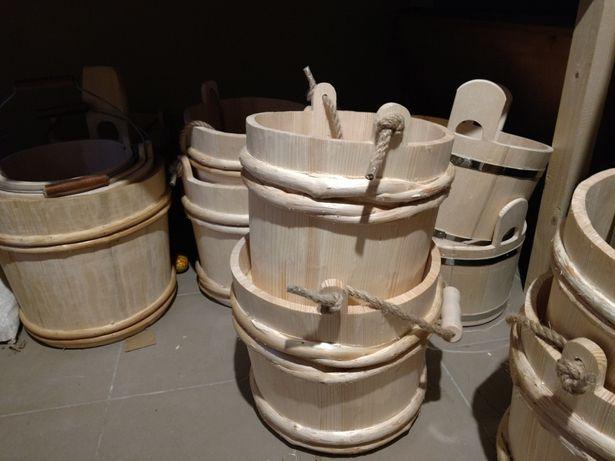 Відро, ведро, баня сауна, кадка, бадья, деревяное ведро, запарник