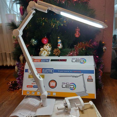 Новая настольная LED лампа Horoz Electric Ebru 10W