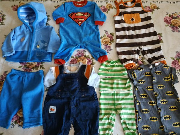 Ubranka dla chłopczyka, rozm 56-62