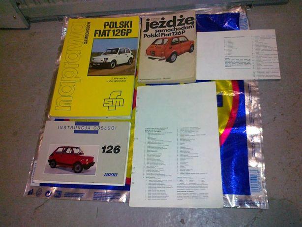 Fiat 126p zestaw dla kolekcjonera mechanika
