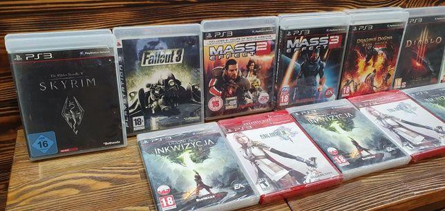 PS 3 игры Mass effect fallout skyrim final fantasy dragon dogma диск б