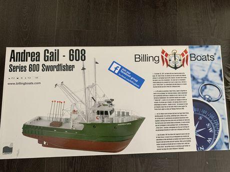 Сборная модель корабля из дерева ANDREA GAIL 1:60 Billing Boats В608