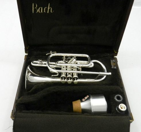 Kornet Vincent Bach 184 S ML Używany Futerał + Ustnik (DR19-310)