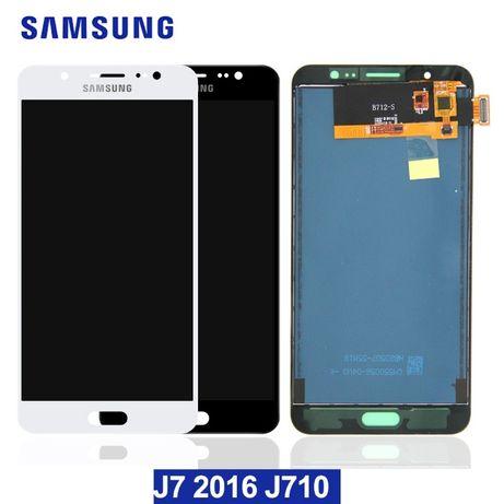 Дисплей Samsung Galaxy j710 j7 2016 с сенсором модуль lcd TFT / OLED