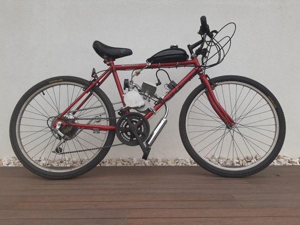 Bicicleta Motorizada Shimano TY-10 80cc