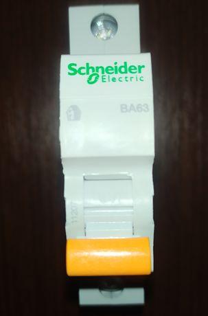 Автоматический выключатель Schneider ВА63 1P 40A