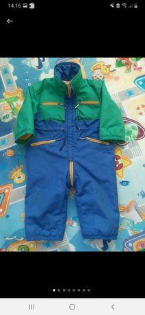 Демисезонный комбез куртка для малыша
