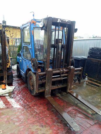 Wózek widłowy Hyster 3.8 tony diesel przesuw pozycjoner kabina
