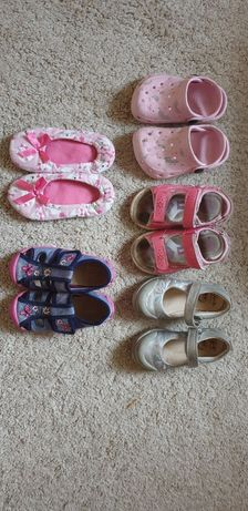 Buciki pantofle kapcie balerinki sandałki rozmiar 23 24