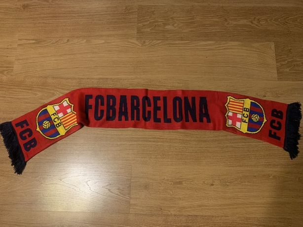 Szalik kibica FC Barcelona