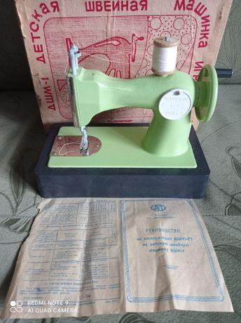 Детская швейная машинка игрушка ДШМ-1.