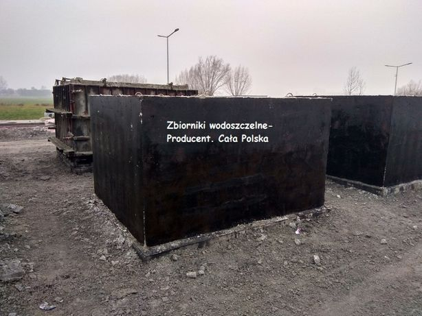Zbiornik betonowy na deszczówkę,na wodę opadową,przeciwpożarowy,ppoż