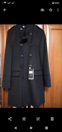 Очень стильное мужское пальто
