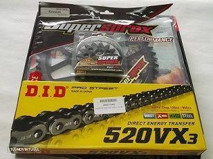 Kit Transmissao Corr. X-ring Kawazaki KLE 650 Versys, EX 650 NINJA 650 R